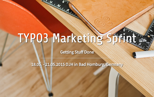 TYPO3 Marketing Sprint 2015