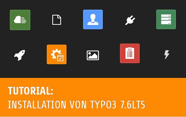 TYPO3 7 LTS als Testsystem installieren Grafik