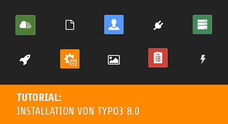 TYPO3 8 LTS als Testsystem installieren im Pagemachine Blog