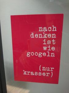 """Thinking is like googling (just gnarlier)"""
